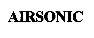 mark for AIRSONIC, trademark #76625329
