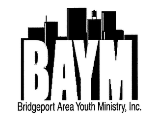 mark for BAYM - BRIDGEPORT AREA YOUTH MINISTRY, INC., trademark #76625479