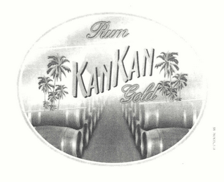 mark for RUM KANKAN GOLD, trademark #76625518