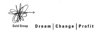 mark for GOLD GROUP DREAM CHANGE PROFIT, trademark #76626353