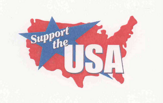 mark for SUPPORT THE USA, trademark #76626507