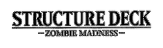 mark for STRUCTURE DECK ZOMBIE MADNESS, trademark #76627118