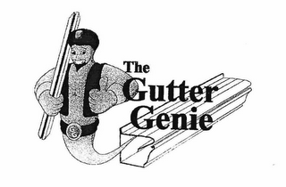 mark for THE GUTTER GENIE GG, trademark #76627844