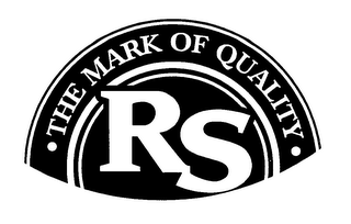 mark for RS THE MARK OF QUALITY, trademark #76628864