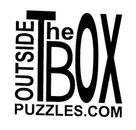 mark for OUTSIDE THE BOX PUZZLES.COM, trademark #76630451