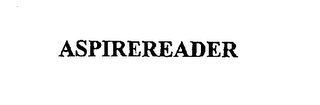 mark for ASPIREREADER, trademark #76631507
