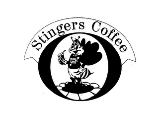 mark for STINGERS COFFEE TRIPLE SHOT, trademark #76632089