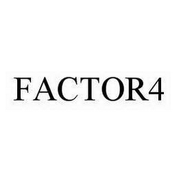 mark for FACTOR4, trademark #76632520