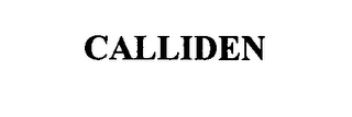 mark for CALLIDEN, trademark #76632554