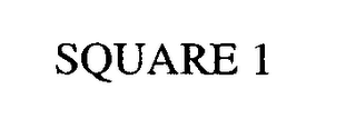 mark for SQUARE 1, trademark #76633560
