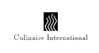 mark for CULINAIRE INTERNATIONAL, trademark #76633586