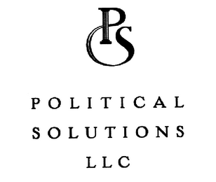 mark for PS POLITICAL SOLUTIONS LLC, trademark #76635272