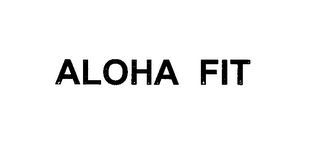 mark for ALOHA FIT, trademark #76635642