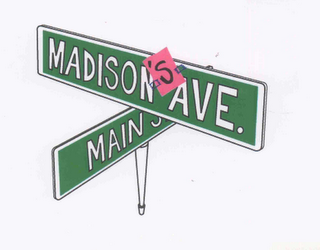 mark for MADISON'S AVE. MAIN, trademark #76635693