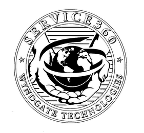mark for SERVICE 360 WYNDGATE TECHNOLOGIES, trademark #76636357