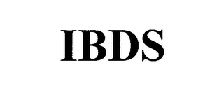 mark for IBDS, trademark #76638871