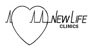 mark for NEW LIFE CLINICS, trademark #76639202