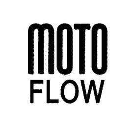 mark for MOTO FLOW, trademark #76639289