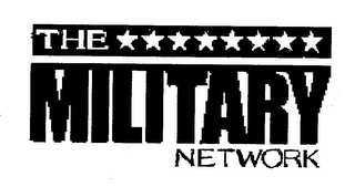 mark for THE MILITARY NETWORK, trademark #76639452