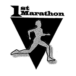 mark for 1ST MARATHON, trademark #76639927