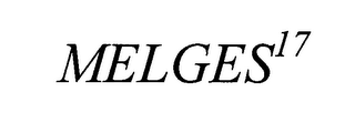 mark for MELGES17, trademark #76639989