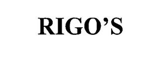 mark for RIGO'S, trademark #76640046