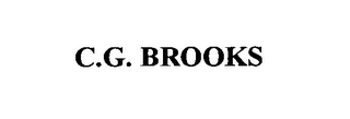 mark for C.G. BROOKS, trademark #76640520