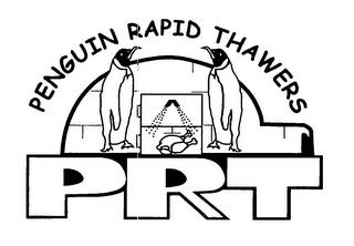 mark for PRT PENGUIN RAPID THAWERS, trademark #76642153