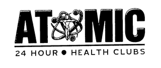 mark for ATOMIC 24 HOUR HEALTH CLUBS, trademark #76642941