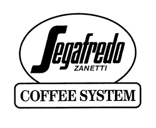 mark for SEGAFREDO ZANETTI COFFEE SYSTEM, trademark #76642962