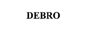 mark for DEBRO, trademark #76643193