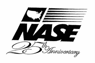 mark for NASE 25TH ANNIVERSARY, trademark #76643582