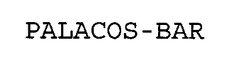 mark for PALACOS-BAR, trademark #76643630