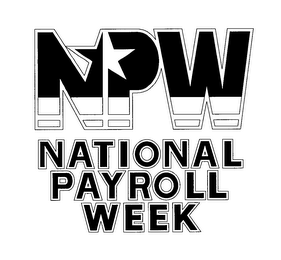 mark for NPW NATIONAL PAYROLL WEEK, trademark #76643813