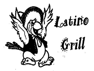 mark for LATINO GRILL, trademark #76644186