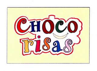 mark for CHOCO RISAS, trademark #76645048