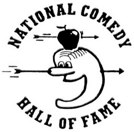 mark for NATIONAL COMEDY HALL OF FAME, trademark #76645601