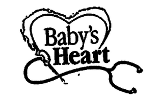 mark for BABY'S HEART, trademark #76645836