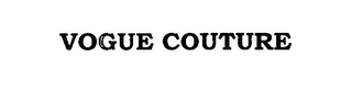 mark for VOGUE COUTURE, trademark #76646702