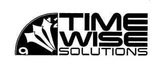 mark for TIME WISE SOLUTIONS, trademark #76646857