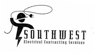 mark for SOUTHWEST ELECTRICAL CONTRACTING SERVICES, trademark #76647774