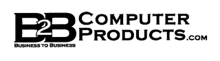 mark for B2B COMPUTER PRODUCTS.COM BUSINESS TO BUSINESS, trademark #76648019