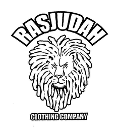 mark for RASJUDAH CLOTHING COMPANY, trademark #76648116