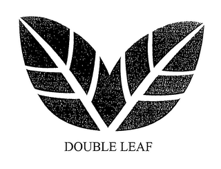 mark for DOUBLE LEAF, trademark #76648170