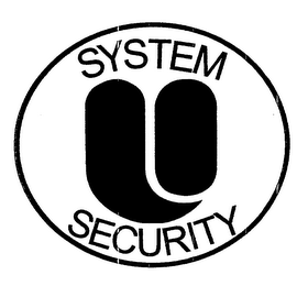 mark for U SYSTEM SECURITY, trademark #76648380