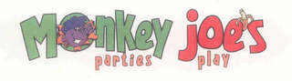 mark for MONKEY JOE'S PARTIES PLAY, trademark #76648390