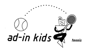 mark for AD-IN KIDS TENNIS, trademark #76649284