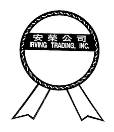 mark for IRVING TRADING, INC., trademark #76649717