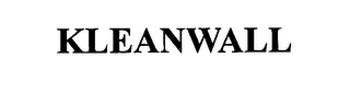 mark for KLEANWALL, trademark #76650010