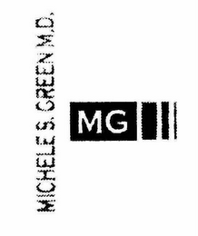 mark for MICHELE S. GREEN M.D. MG, trademark #76650655